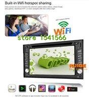 GPS Navigation 2din car dvd gps Universal Car DVD Player 6.2Car GPS Radio Double DIN Stereo BT For Nissan Qashqai X trail Tiida