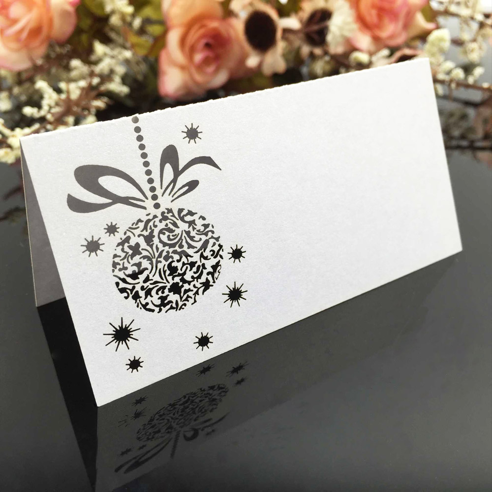 20pcs/set Laser Cut Name Card Wedding Celebration Table Name Card ...