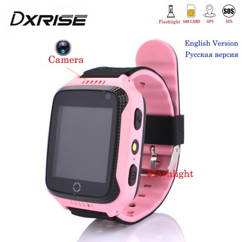 6ddc285ed31 Q528 Crianças GPS Relógio inteligente com Tela Sensível Ao Toque de  Iluminação Da Câmera cartão Sim relógio telefone Localização Chamada SOS  Monitor pk Q100 ...