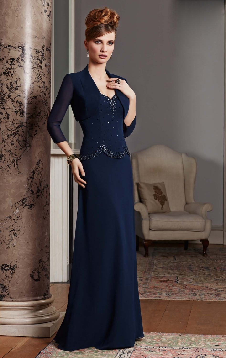 evening dresses with jackets page 7 - wool