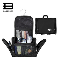 New Hanging Men S Travel Bag Black Travel Organizer For Storage One Space Cosmetic Bag Free