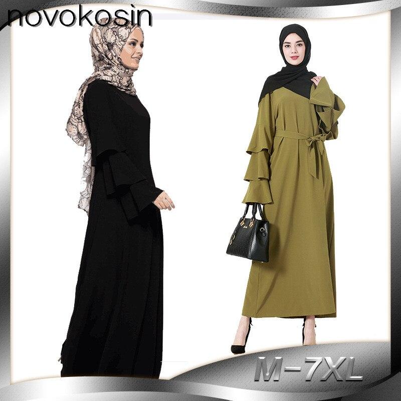 Buy Online CM20 2017 Muslim Dresses Women Plus Size Summer ...
