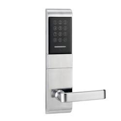 Touch Screen Electronic smart Door Lock Code, 2 ID Cards, 2 Keys Digital Password Lock Keyless lk1078BS