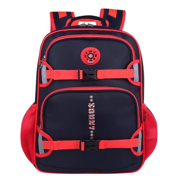 New Fashion High Quality Nylon Children School Bags Boys Backpacks Brand Design Teenager Best Students School Backpack Rucksacks
