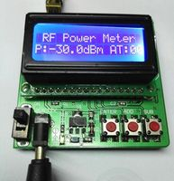 1~600MHz Digital radio frequency RF power meter 75 to +16dBmpower attenuation LCD display