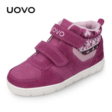 UOVO Kids Casual Shoes New Fashion Boys And Girls Sneakers Autumn Winter Kids School Shoes Childrens Footwear Size 27# 35#