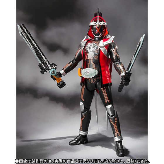 Original bandai tamashii nações s.h. Figura de ação exclusiva de figuarts/shf-kamen rider ghost musashi damashii