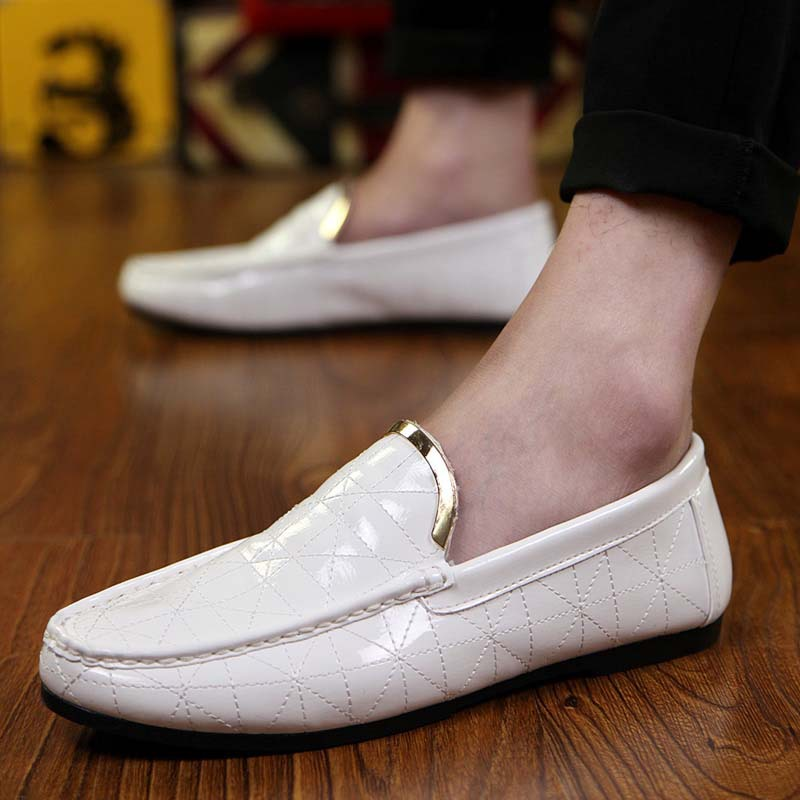 Spring Autumn Men Casual Leather Shoes For Men Pointed Toe Dress