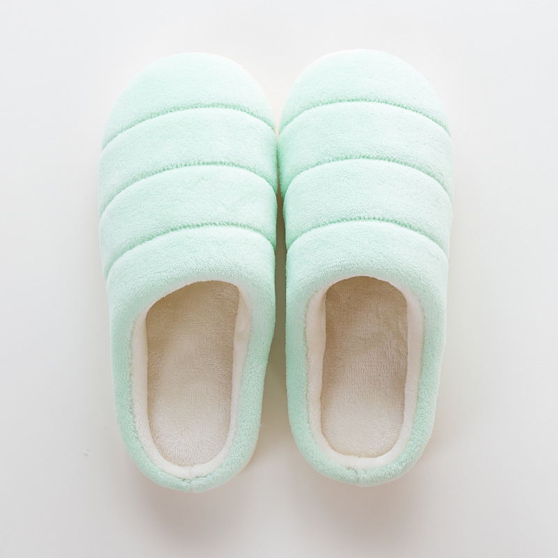 79dd7039fe4 Christmas Winter Shoes Woman Warm Home Slippers Women Fleece Flip Flops  Flat Home Shoes Indoor Slides Antiskid zapatos de mujer-in Slippers from  Shoes on ...