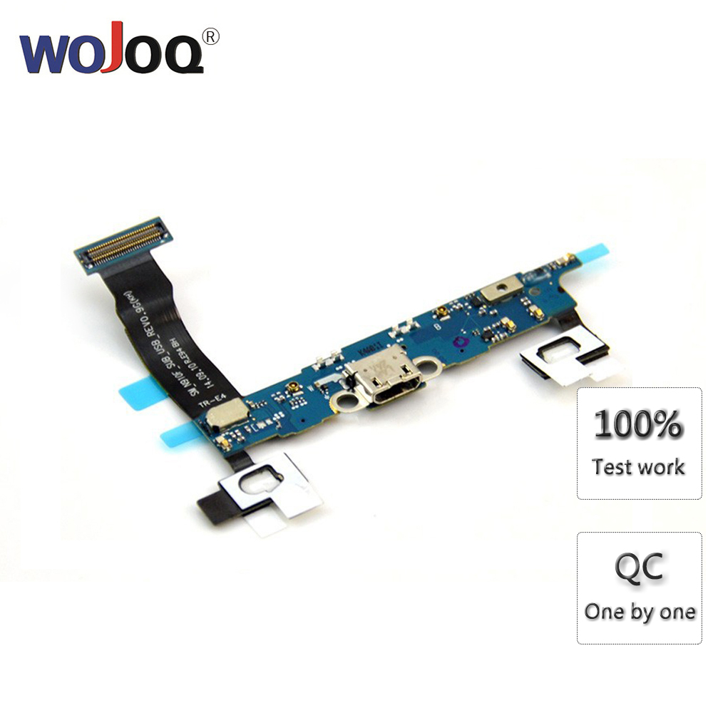 New USB Charging Port For Samsung Note 4 N9100 N910L N910S N910K N910F N910C Charger Dock Connector Flex Cable Repair Parts