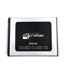 1PCS Micromax A93 Battery 3.7V 2000mAh 5.18Wh High Quality Mobile Phone Replacement Li-ion Battery Free Shipping + Tracking Code