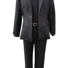 Anime Steins Gate Rintaro 0 Okabe Cosplay Costumes Men Halloween Party  Uniform Suit(China) 284355a09012