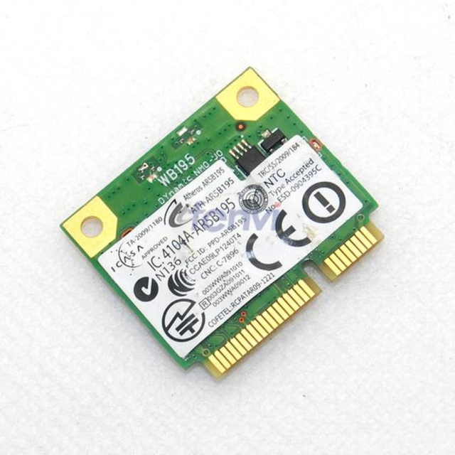 ATHEROS AR5B195 NETWORK DRIVERS DOWNLOAD (2019)