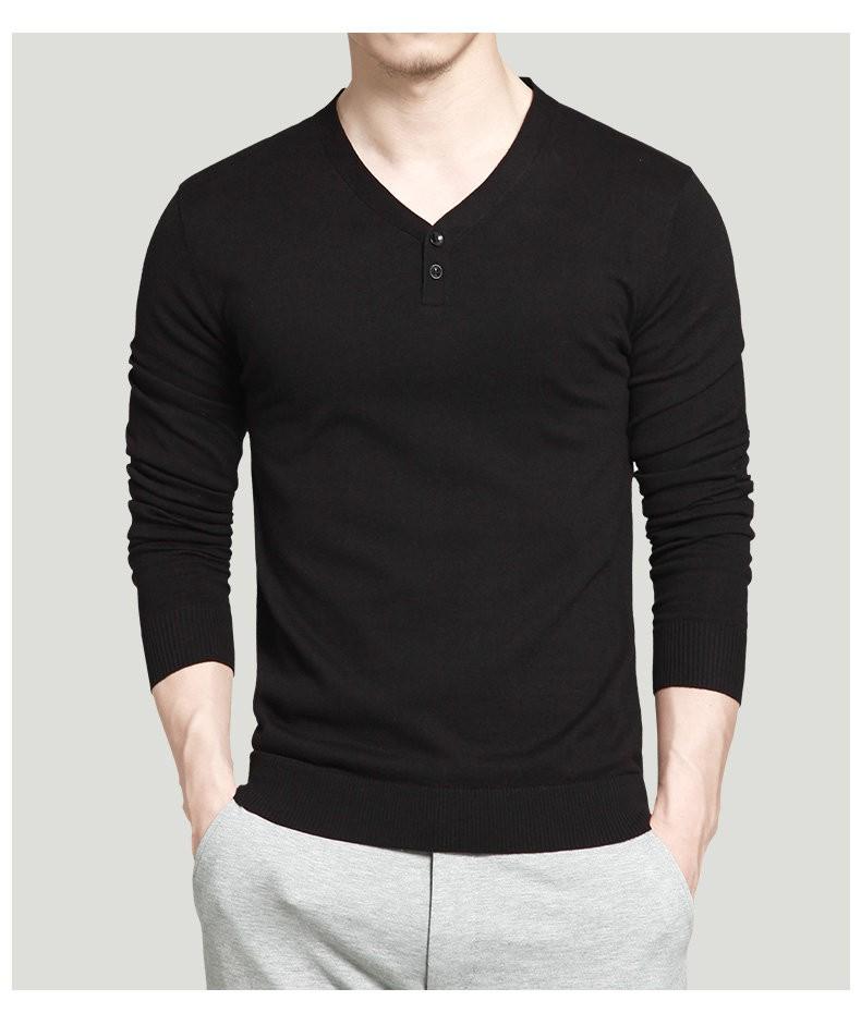7 colori del pullover degli uomini di maglioni migliore stile di ... 9b3ff53b2b3