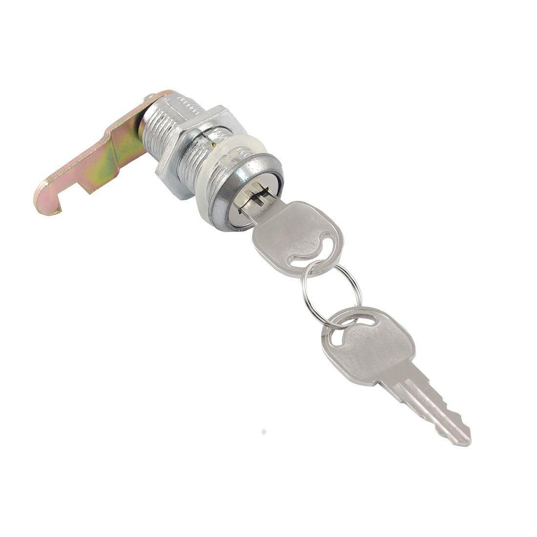 17.5mm X 25mm Thread Cabinet Mailbox Drawer Quarter Turn Cam Lock Diversified Latest Designs