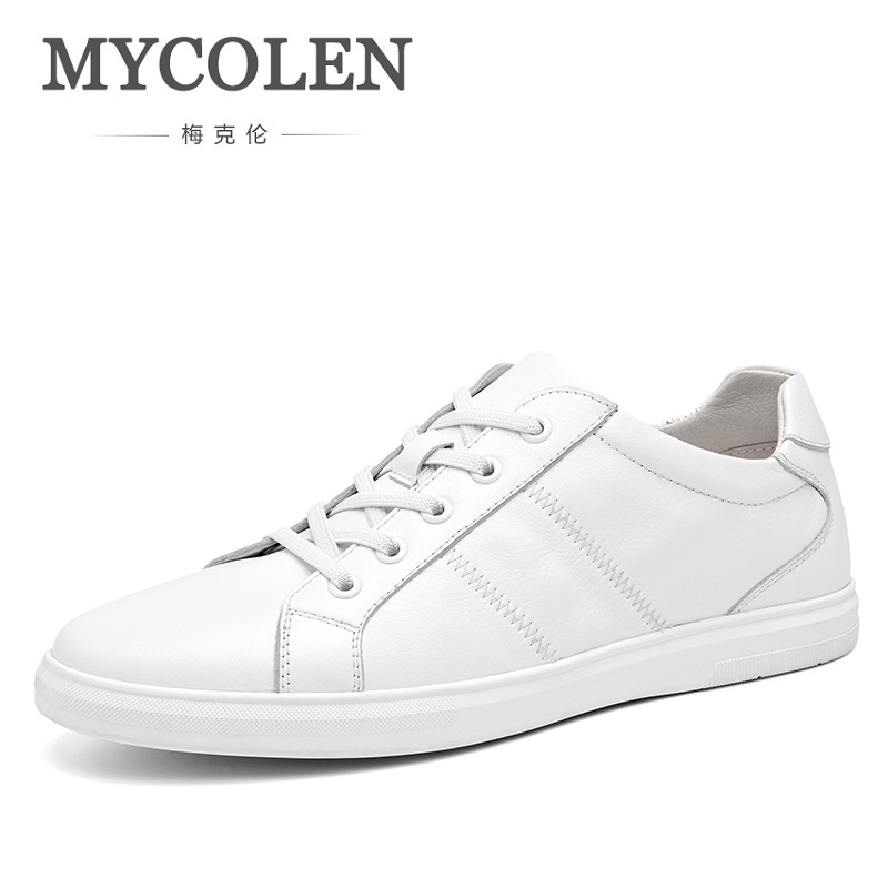 MYCOLEN The New Listing Casual Shoes Fashion Lace-Up Flat Canvas Shoes 2018 Spring Summer Breathable Shallow Shoes Men ege brand handmade genuine leather spring shoes lace up breathable men casual shoes new fashion designer red flat male shoes