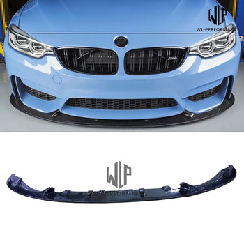 F82 M4 High Quality Carbon Fiber Front Lip Splitter Car Styling for BMW 4 Series F82 M4 Car Body Kit 420i 428i 435i 2014-UP image
