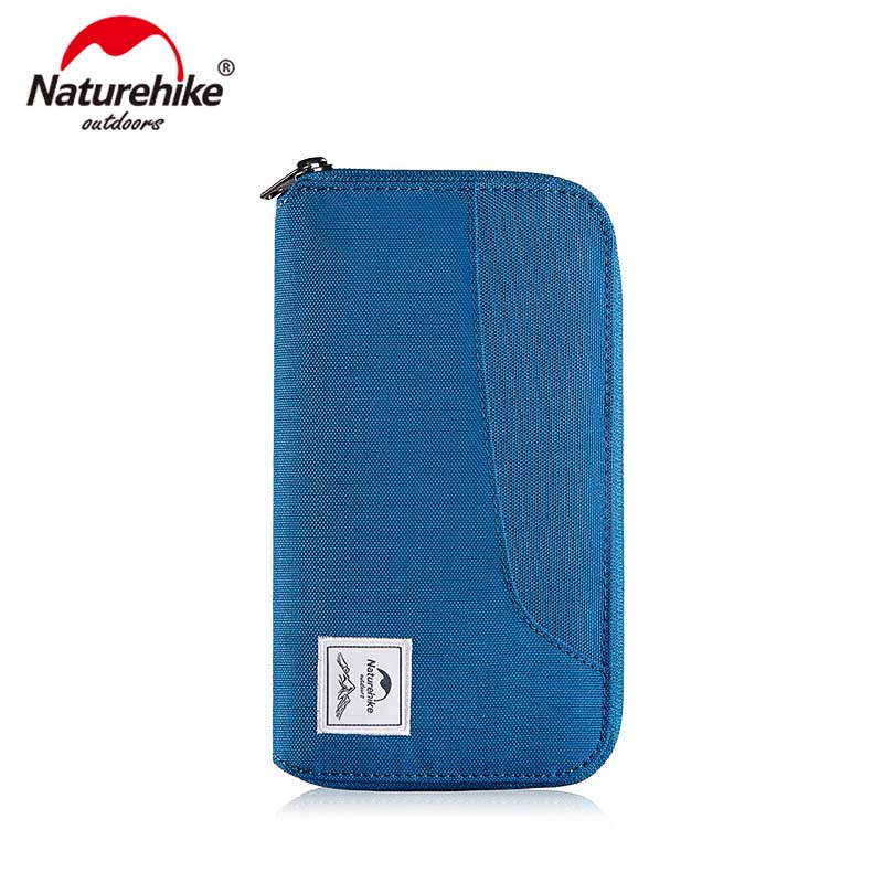 Naturehike Multifunctional RFID Travel Wallet Ultralight Protable Travel Bag For Documents Credit Cards NH18X020-B