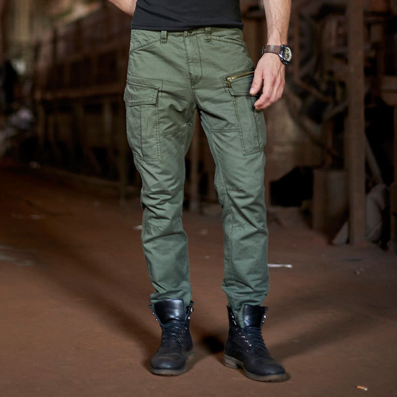 Streetwear Camouflage Jogger Pants Men 2019 Hip Hop Casual Cotton Multi Pockets Harem Pants Camo Elastic
