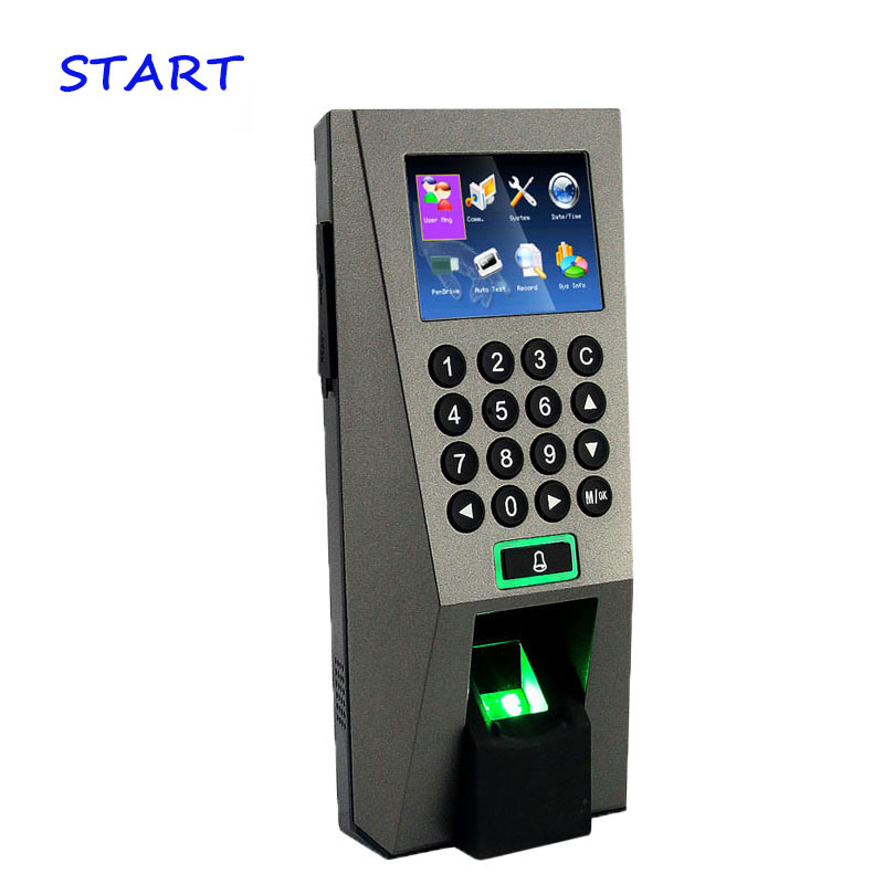 ZK F18 Biometric Fingerprint Access Control System With Keypad TCP/IP Door Access Controller And Time Attendance