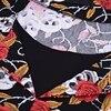 Vintage Skull Print Rockabilly Dress 2