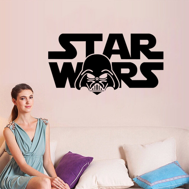 DIY Wall Stickers Star Wars Kids Room
