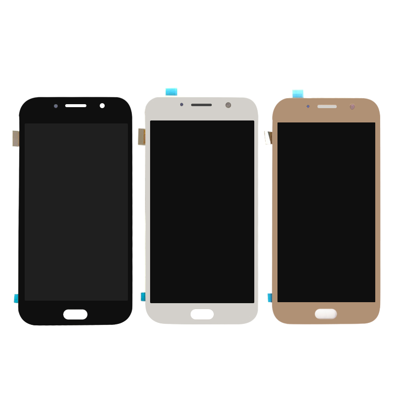 LCD For <font><b>Samsung</b></font> Galaxy A7 2017 A720 <font><b>A720F</b></font> A720M SM-<font><b>A720F</b></font> Display Touch <font><b>Screen</b></font> Digitizer Assembly Replacement image
