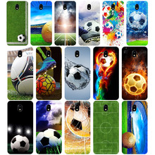 127WE Football field Soft Silicone Tpu Cover phone Case for Samsung j3 j5 j7 2015 2016 2017 j330 j2 j4 prime j4 j6 Plus 2018(China)