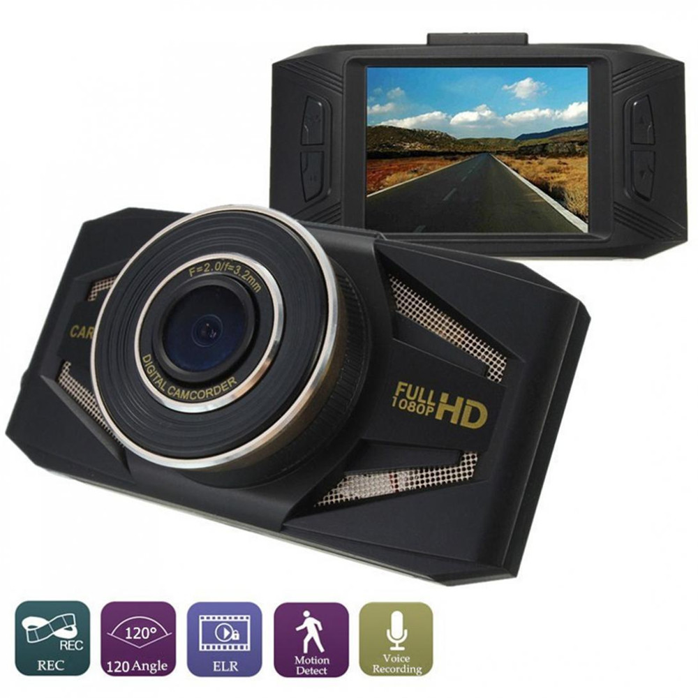 Brand New 2.4 Inch 1080P Full HD Car DVR Recorder Camera Vehicle Security Camcorder Video
