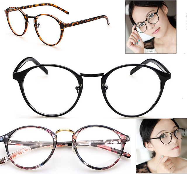 Очки рамки Ретро мода дикой Природы состав Животных и растений очки кадры мужчины женщины украшения оптических стекол