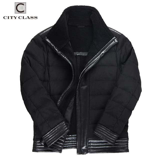 City Class мужские осень-зима PU осение Куртки искусственная кожа искуственная Меховая куртка пальто био пуховик касуха молния Casaco Мужские парки Черные модные куртки 178- 17