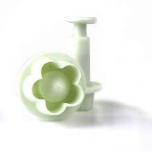 4Pcs/Set Plum Flower Fondant Mold Cutter