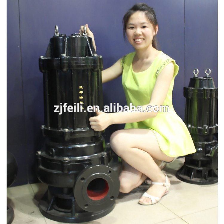 non clog sewage submersible pump or dirty water pump submersible pump waste water pump