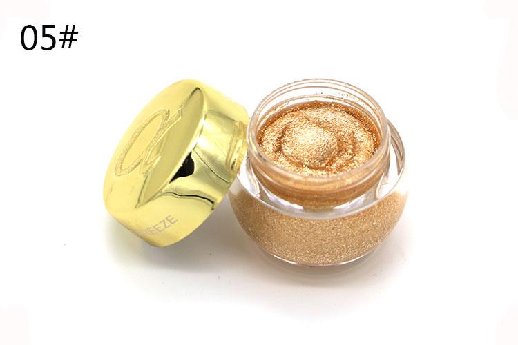 Love Alpha Single Color Eye Shadow Gel Eyes Makeup Glitter Nude Eyeshadow 16 Color EyeShadow Palette Shining Bright Brand Makeup (8)