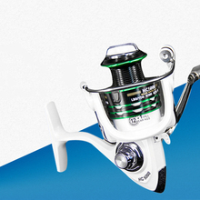 Folding rocker Spinning Fishing Reel 12BB + 1 Bearing Ball Professional Metal Left/Right Hand Fishing Reel Wheels sougayilang feeder spinning fishing reel china left right reel fishing gear coil 12 1 ball bearing metal sea fishing reel peche