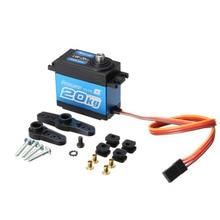Power HD LW 20MG Waterproof Digital Servo For 1 10 1 8 RC Car RC Model