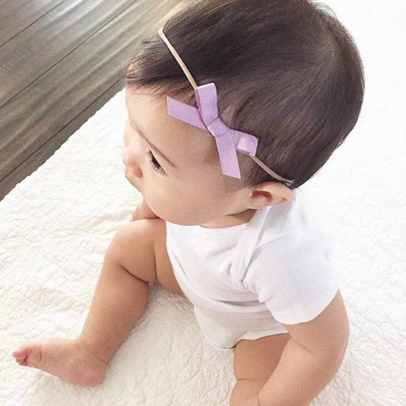 3 Pcs/set Anak-anak Bayi Gadis Bunga Busur Elastis Bando Putri Liburan Aksesoris Rambut Pesta Bayi Fotografi Hiasan Kepala