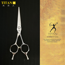 Titan barber shop stianless steel VG10  hand made sharp professinal hair scissors