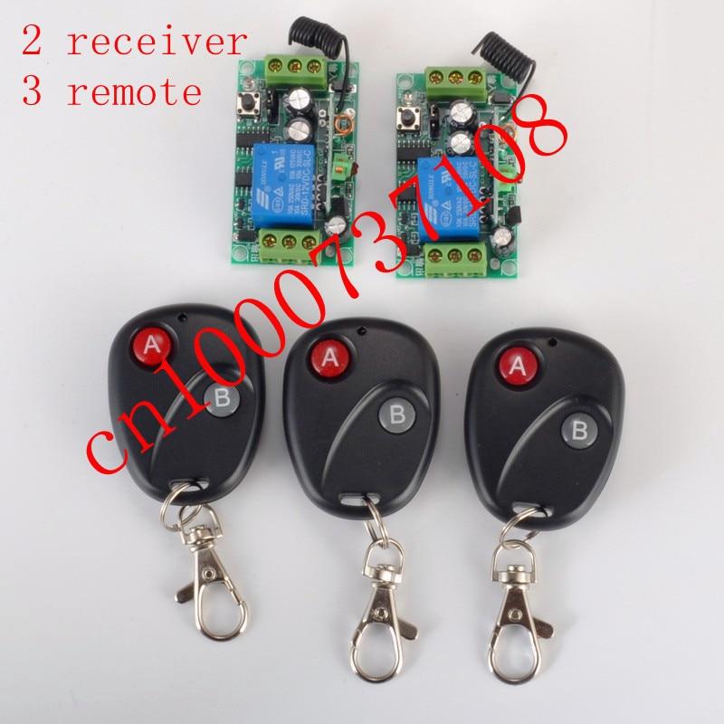 12V 1ch 315MHZ /433MHZ Wireless Rf Remote Control Switch
