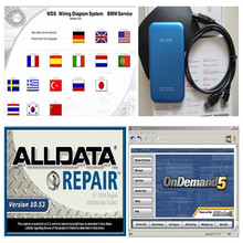Latest Alldata Software 10.53 auto repair data + Mitchell on demand estimator for all cars newest version 50 software in 1TB HDD(China (Mainland))