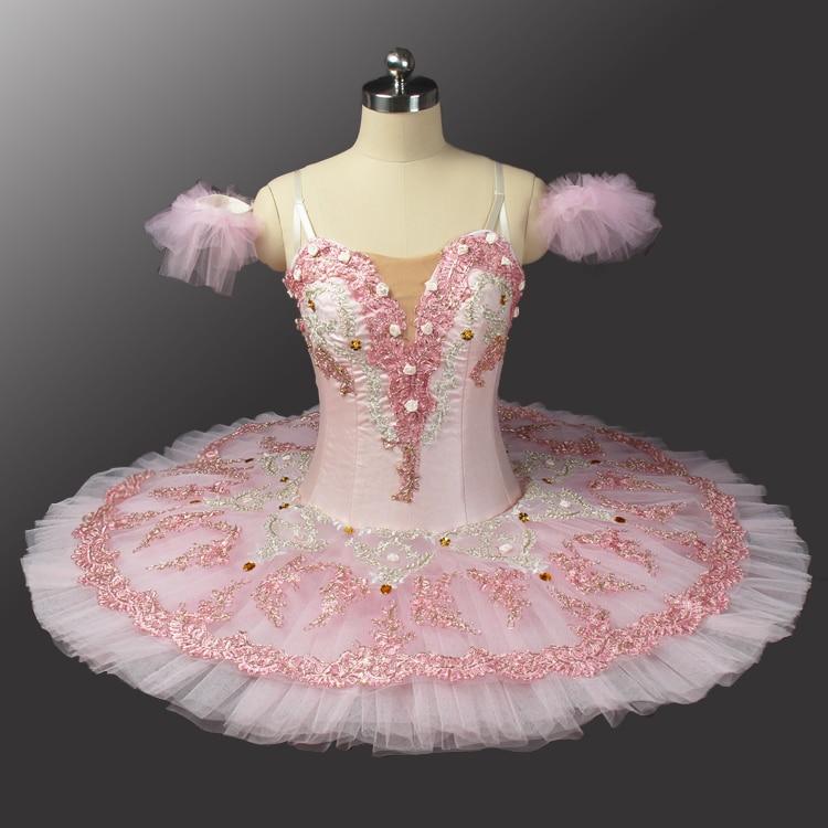 Professional Ballet Tutu Costume Ballet Tutus Skirt Classical Ballerina Stage Costume Sleeping Beauty Sugar Plum Fairy