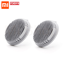 New 2pcs Xiaomi Mijia ROIDMI Filter For Handheld Vacuum Cleaner F8 Spare Parts Washable Repeatedly Use App Remind Replacement