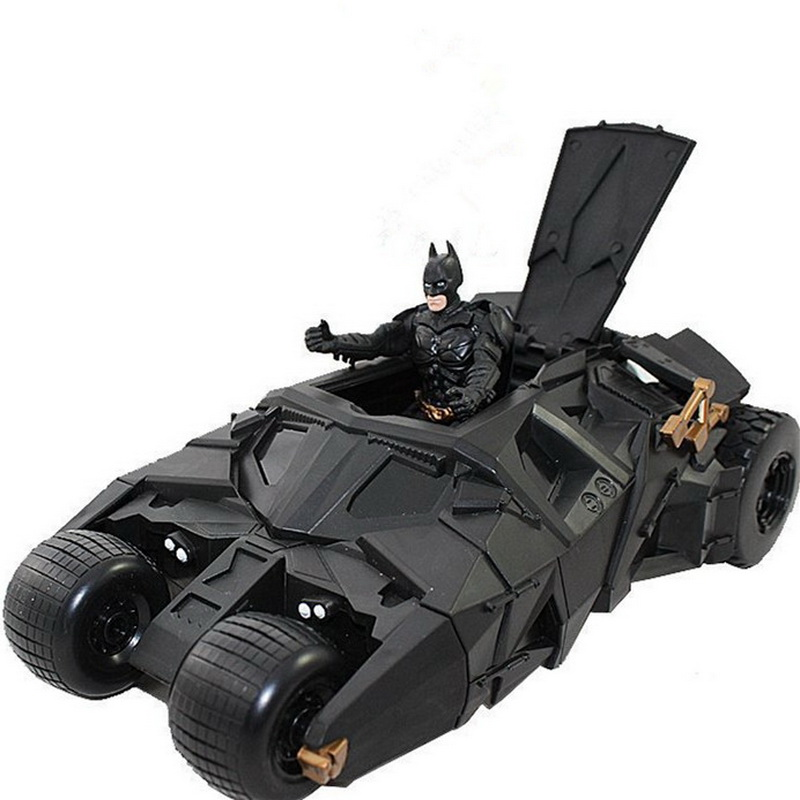 цены 2018 Fashion Hot Sale Anime Action Figures Batman Dolls Tumbler Batmobile ToyS New Year Birthday Gifts For Children Kids