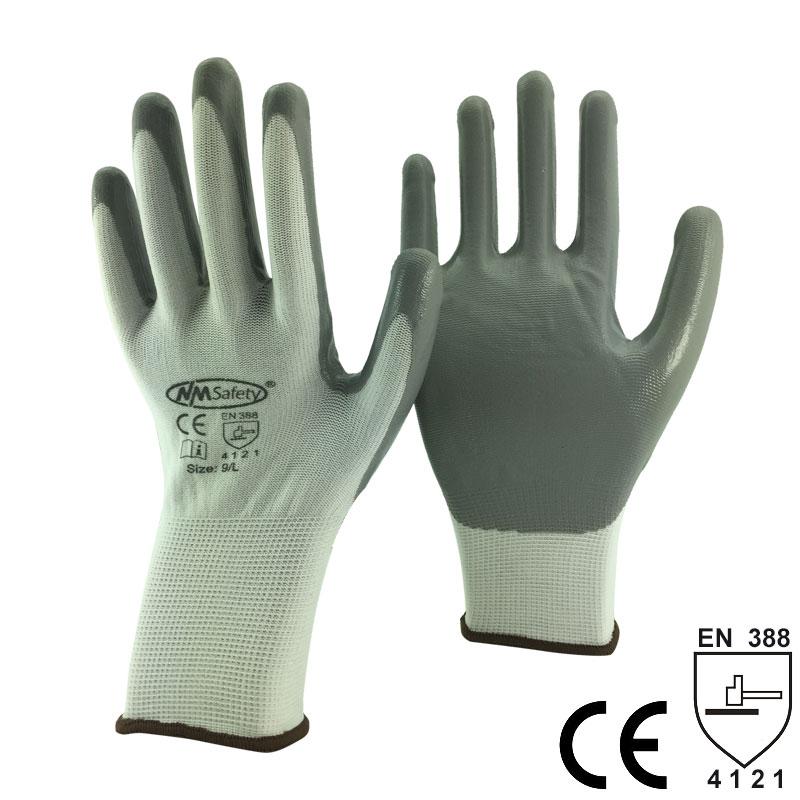 NMSafety mănuși de lucru din nitril pentru scufundare din nylon - Securitate și protecție - Fotografie 6