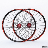 JK XT 24 inch MTB mountain bike bicycle 32 holes Disc brake 4 sealed bearing wheels double rim wheelset rim