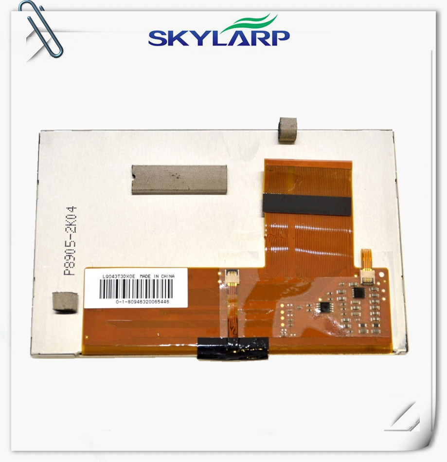 skylarpu 4.3inch LQ043T3DX0E LCD Module for TomTom GO 520 GO 720 GO 920 LCD Screen display panel with Touch screen digitizer