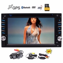 Wireless Backup Camers included 2 Din Car DVD Player Autoradio Stereo Automotive GPS Auto Radio Electronics 2 Din Navigator