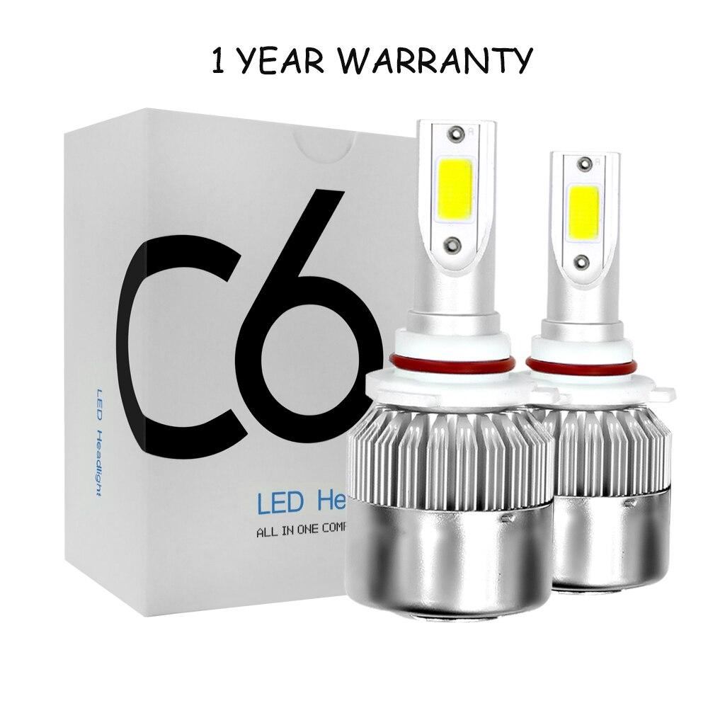 Neuheiten Auto Lichter Lampen LED H4 H7 9003 HB2 H11 LED H1 H3 H8 H9 880 9005 9006 H13 9004 9007 Auto Scheinwerfer 12 v Led Licht