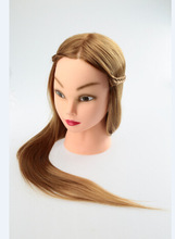 Cosmetology 24 inch Hair Styling Mannequin Head Hairstyle Hairdress Hairdressing Training Doll Female Mannequins