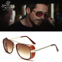 fe993ae03c44f D   T Iron Man 3 Tony Stark lunettes de soleil hommes femmes Vintage  lunettes de soleil polarisées marque Designer luxe teinté P..